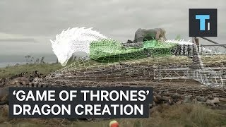 This is how the dragons in Game of Thrones are brought to life