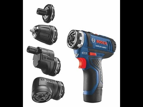 Bosch 12-Volt FlexiClick 5-in-1 Drill/Driver System
