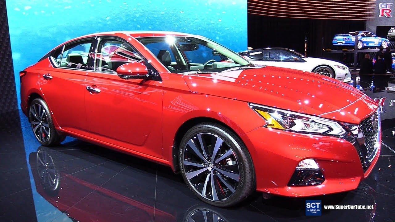 2020 Nissan Altima Platinum Exterior And Interior Walkaround 2019 New York Auto Show