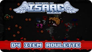 Binding of Isaac: Rebirth - D4 Item Roulette (Isaac)