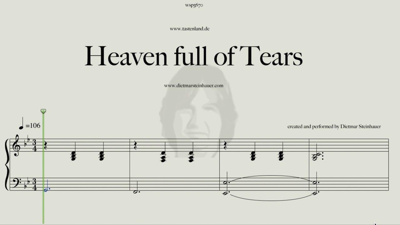 Heaven full of tears youtube for Dietmar steinhauer
