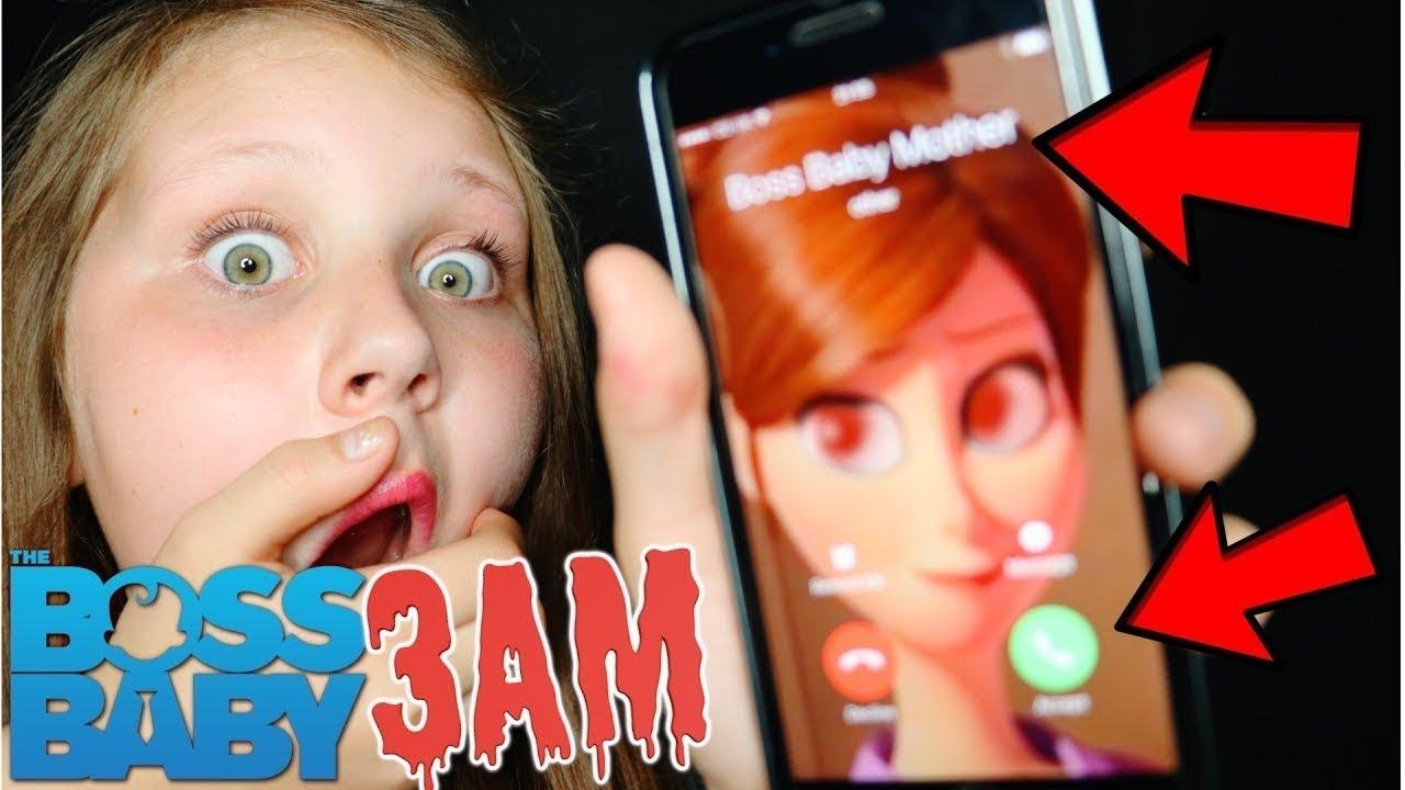 SCARY BOSS BABY'S MOM CALLED ME AT 3AM!! OMG SO CREEPY ...