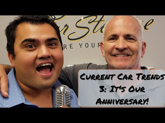 Current Car Trends 3: It's Our Anniversary