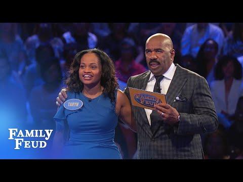 Rock & Taryn ROCK Fast Money! | Family Feud