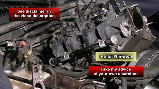 Intake Removal - 5.3L Chevy Avalanche