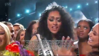 Miss Universe USA 2017 is from District of Colombia - Crowning Moment - FULL HD
