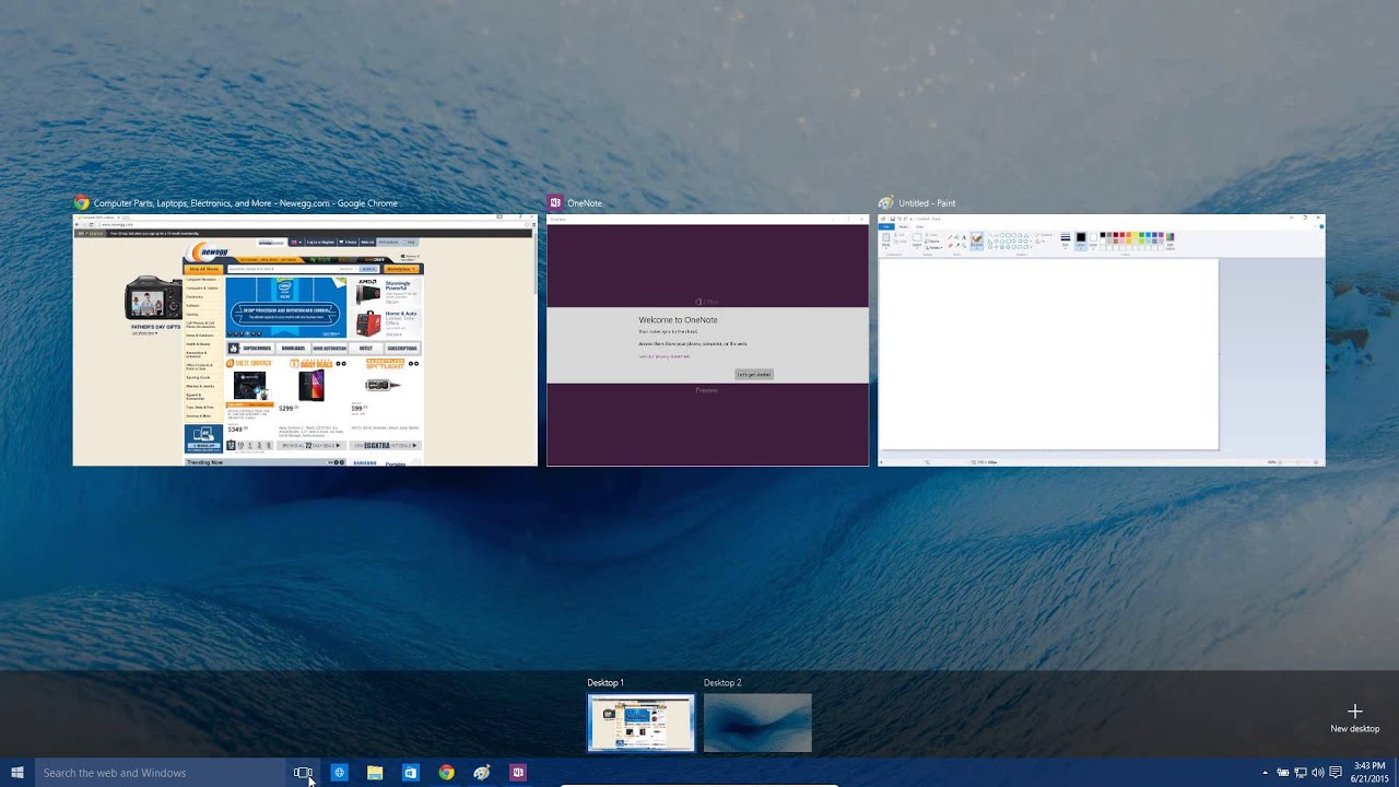 Windows 10 virtual desktops tutorial youtube - Nspaces virtual desktop ...