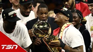 Ujiri: 'We've been trying to prove there's a meaning to having a team outside the U S '