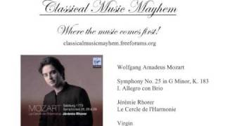 Mozart - Symphony No. 25 in G Minor, K. 183: I. Allegro con Brio