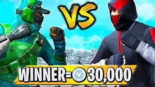 Fresh vs Muselk! WINNER Gets 30,000 V-bucks!