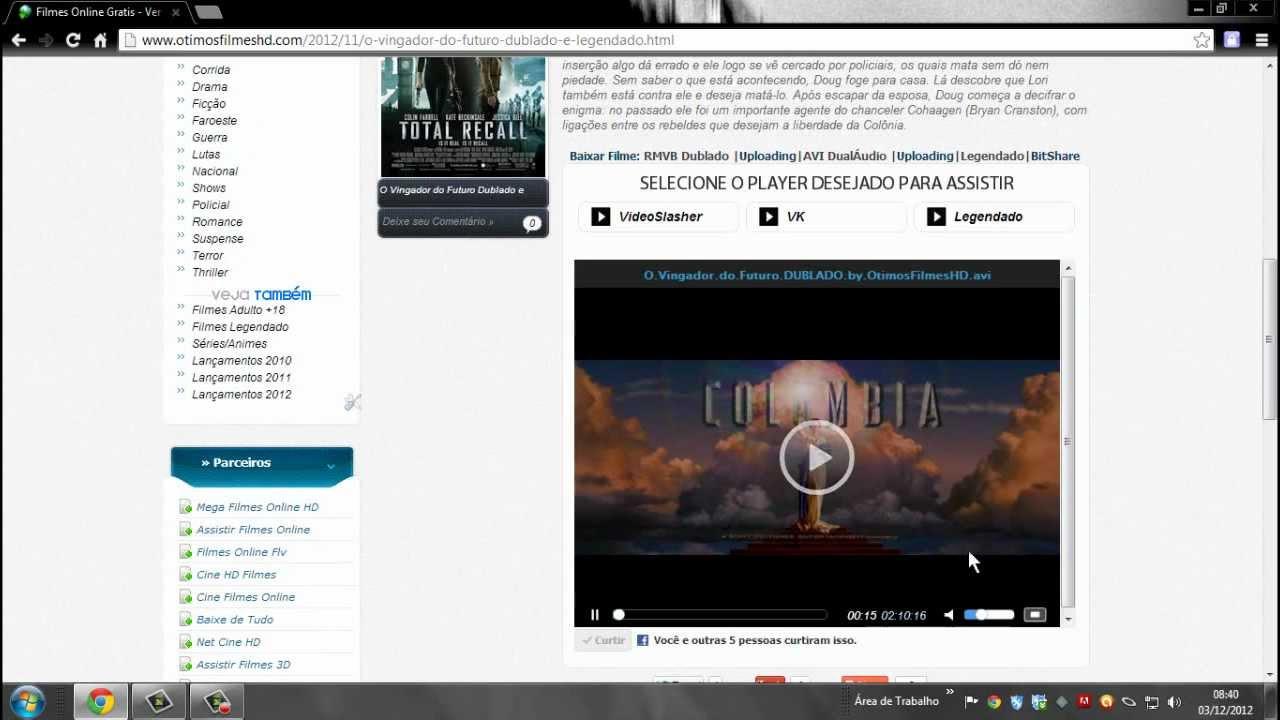 FUTURO VINGADOR BAIXAR O FILME DUBLADO DO AVI 2012