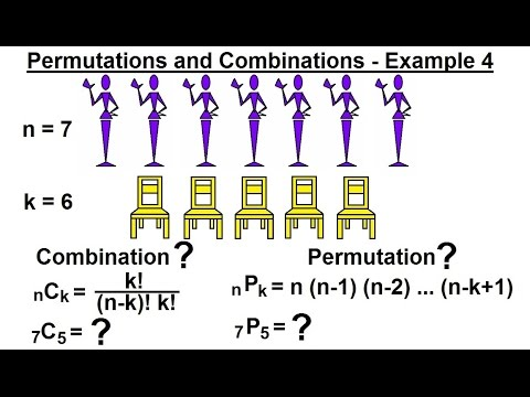 Probability & Statistics (39 of 62) Permutations and Combinations - Example 4