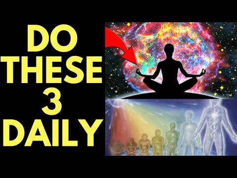 3 Habits for TRANSCENDING Consciousness and Raising Your Vibrational Set Point