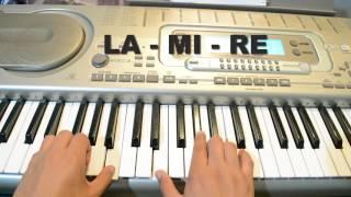 Ya me entere - ( TUTORIAL - PIANO)