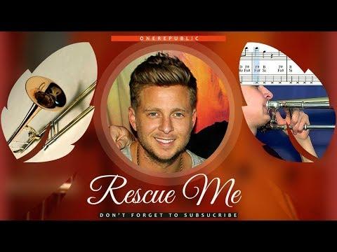 Rescue Me Sheet Music Trombone - OneRepublic Rescue Me Tutorial thumbnail