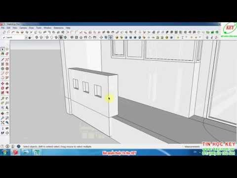 Hướng dẫn tự học SketchUp từ cơ bản đến nâng cao phần 10