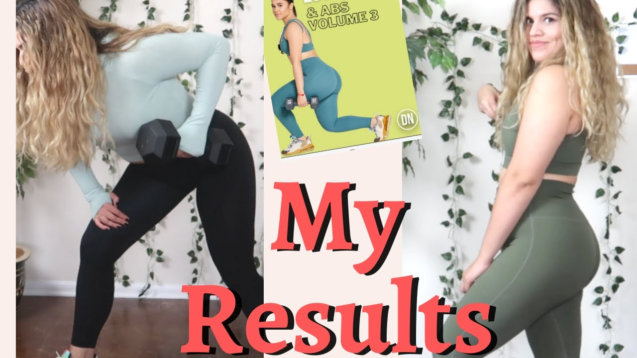 <div>I did 5 weeks of Darihana Nova's workout guide | Fitness vlog #5 | Results</div>