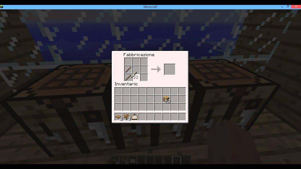 Cancello Di Legno Minecraft : Minecraft: come fare una botola staccionata quadro cartello e un