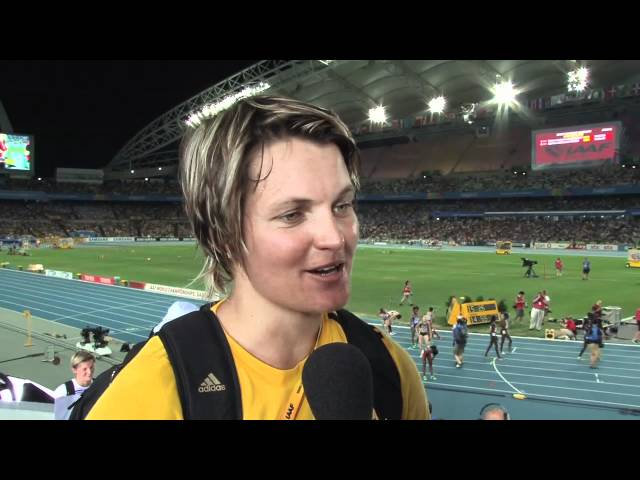 From The Daegu 2011 Mixed Zone: Sunette Viljoen RSA