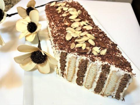 ЖЕНСКАЯ ЛОГИКА.  Торт - десерт без выпечки.  Cake Dessert .
