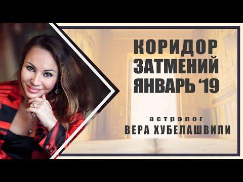КОРИДОР ЗАТМЕНИЙ 2019г. РОКОВОЙ ЯНВАРЬ 2019г.