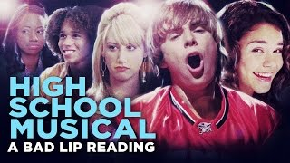 'HIGH SCHOOL MUSICAL: A BAD LIP READING'  Bad Lip Reading and Disney XD Present: