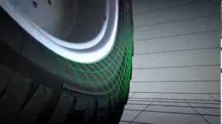 The world's largest tyre for tractors geared towards less soil compaction