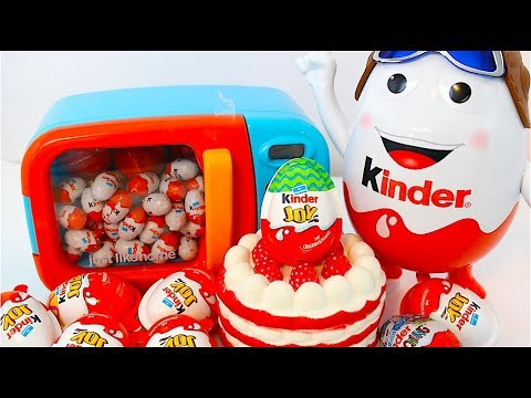 Kinder Man Super Kinder Surprise Eggs Kinder Joy Barbie Kung Fu Panda TMNT Come And Play