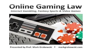 Online Gaming Law