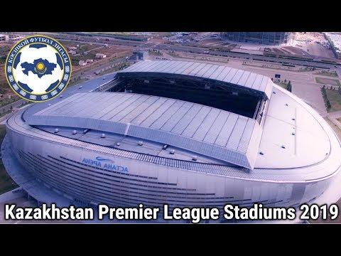 Kazakhstan Premier League Stadiums 2019