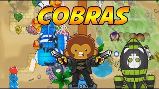FASTEST COBRA VICTORY EVER - Bloons TD Battles