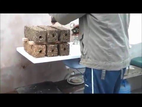 Presa Brichete Rumegus - Hobby - Sawdust Briquette Press