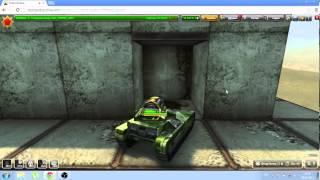 тайная комната в игре танки онлайн на карте бездна