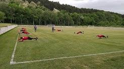 ЦСКА тренира на групи в Панчарево