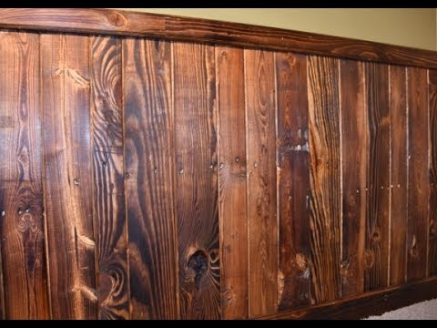 Pallet Wood Wall Paneling Part 2
