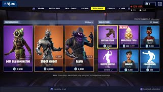 SPIDER KNIGHT, ARACHNE, RAVEN, RAVAGE Skins are BACK - February 23rd Fortnite Daily Item Shop LIVE