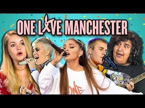 Thumbnail: ADULTS REACT TO ONE LOVE MANCHESTER CONCERT