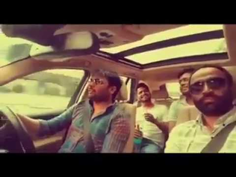 Amrinder gill singing live in car..awsmm voice