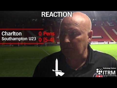 CHECKATRADE TROPHY | Slade on Southampton shootout victory
