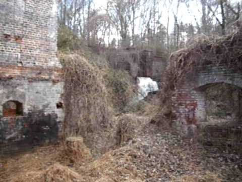 Great Falls Mill, Rockingham north Carolina,  Inside The Mill.AVI