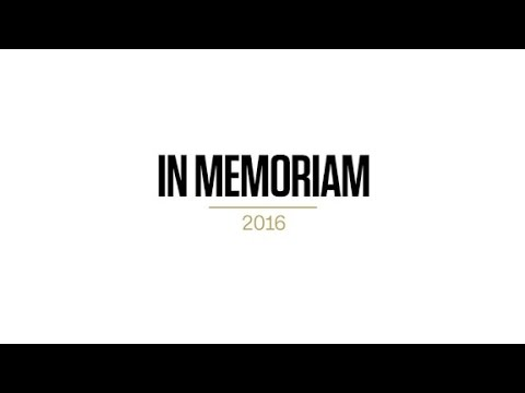 2016 presidential campaigns in memoriam