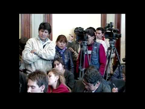 4164LA BOLIVIA-VICE PRESIDENT-CHILE