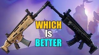 Weapon Royale | Nocturno VS Siegebreaker | Fortnite