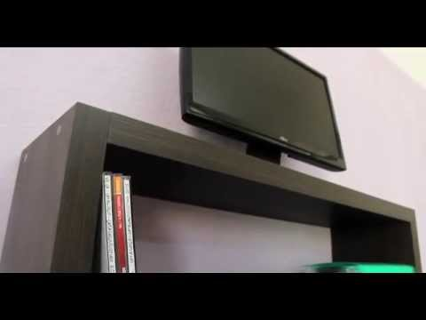 VE.CA-ITALY Composizione mensola design porta tv - YouTube