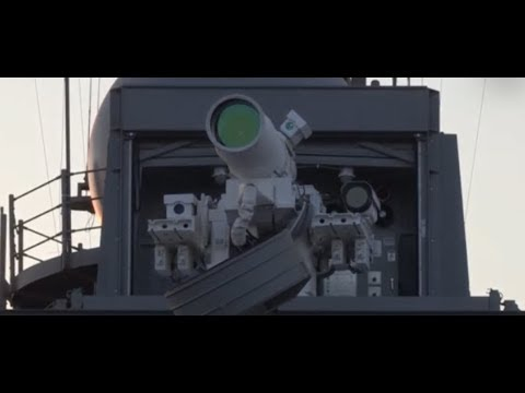 "BREAKING: ""Navy Unveils Worlds First LASER WEAPONS"""