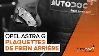 Manuel du propriétaire Opel Astra g f48 en ligne