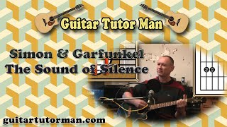 The Sound Of Silence - Simon & Garfunkel - Acoustic Guitar Lesson