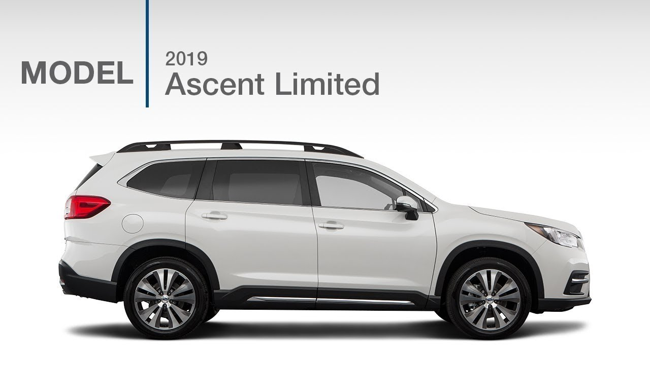 2019 Subaru Ascent Limited Suv Model Review Youtube