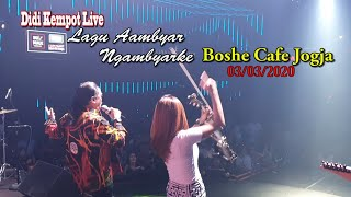 Download Lagu Ambyar Merambah Cafe Didi Kempot Live Boshe Cafe
