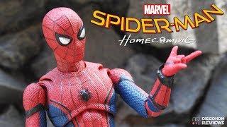 Bandai SH Figuarts Spider-Man Homecoming Review BR / DiegoHDM
